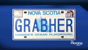 """Is this license plate """"socially inappropriate""""? (01:42)"""