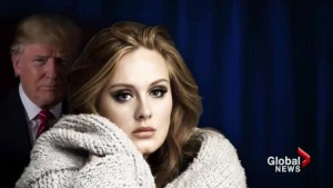 Adele tells Trump and other candidates not to use her music