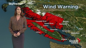 B.C. evening weather forecast: April 5,