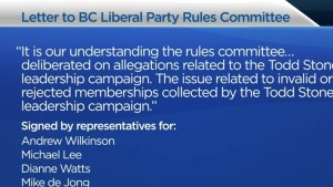 Alleged illegal sign-ups in Liberal leadership race