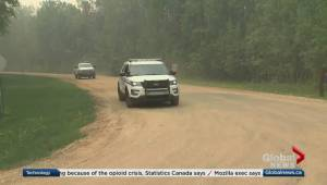 Slave Lake residents put on evacuation alert because of wildfire
