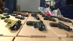 Toronto police say they've made largest single seizures of guns city's history