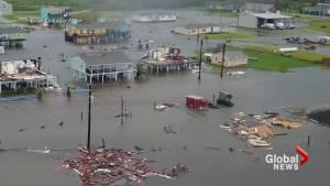 Rockport, Texas devastated after Hurricane Harvey makes landfall
