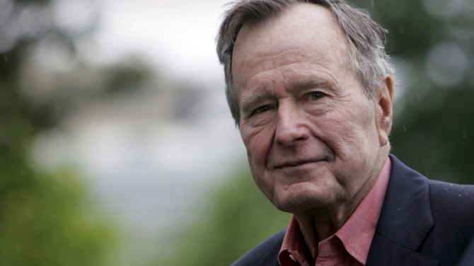 Two Bush presidents were not quite 'like father, like son'