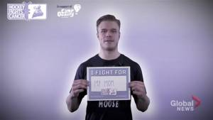 Manitoba Moose fights cancer