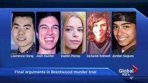 Crown agrees Matthew de Grood should be found not criminally responsible (00:41)