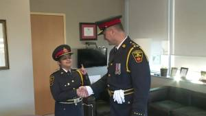 Grade 5 student becomes Durham Police Chief for a day