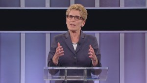 Ontario Election Debate: Kathleen Wynne lays out her closing statement