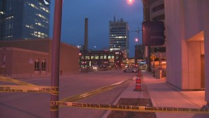 Scene of serious assault in Winnipeg's downtown