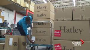 Hatley donates clothes to Fort McMurray