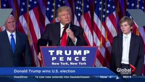 How did Donald Trump win the U.S. Election?