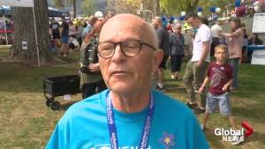 Kelowna Alzheimer's walk supportive to those living with the disease