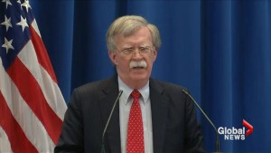 Bolton presses Russia about meddling in US election process