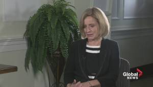 Year-end interview with Premier Notley: Fort McMurray wildfire and the rebuild (05:25)