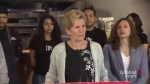 Premier Kathleen Wynne reacts to fire at Sunnybrook Stables