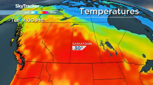 Saskatoon weather outlook: first 30 degree heat of the year ahead