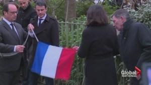 Paris marks one year since Charlie Hebdo attacks