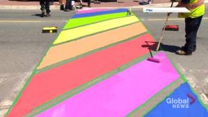 Lack of rainbow crosswalks in Moncton upsets an LGBTQ advocacy group