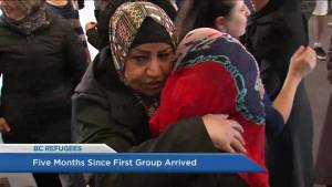 Five months later, how are Syrian refugees settling in B.C.? (03:47)