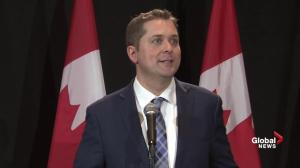 New federal Conservative leader Andrew Scheer opposed to a carbon tax