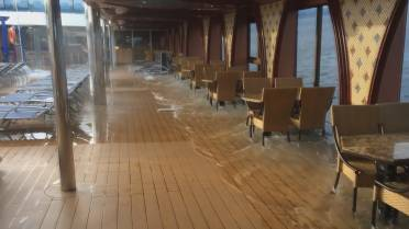 Are we sinking?': Passengers on listing cruise ship capture