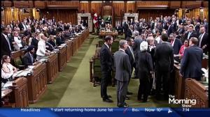 Justin Trudeau accused of 'manhandling' MP in House of Commons