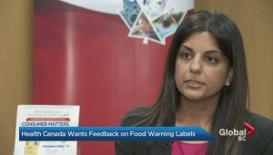 Health Canada's plans to change food labels