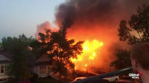 Fire in southwest Calgary damages homes