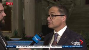 Finance Minister Joe Ceci defends 2018 Alberta budget