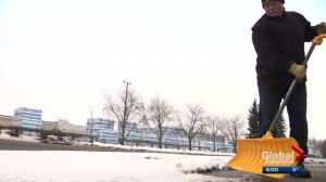 Late April blast of winter hits Edmonton region