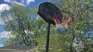 Moncton teen who had basketball net stolen during Raptors game gets unexpected gift of kindness