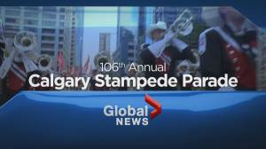 Full coverage: The 2018 Calgary Stampede Parade (02:03:54)