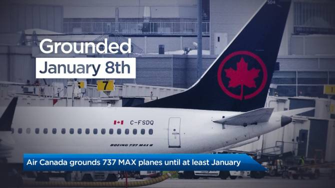 A look at what Canadian airlines are doing with their Boeing 737 MAX 8s fleets