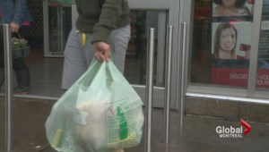Montreal recommends plastic bag ban