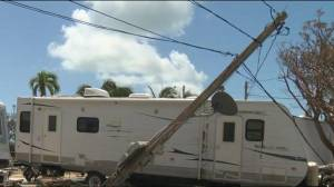 A look at the hurricane devastation in Key Largo