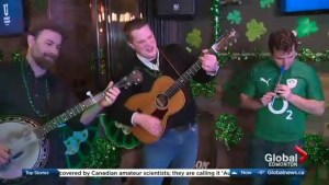 Celebrate Saint Patrick's Day with food and music