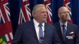 Ford says he consulted with 'thousands of people' on government cuts