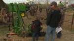 Alberta man auctions off rare lifetime collection of vintage farm equipment