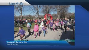Laps 4 Life Run to support familes affected by Batten disease in Manitoba
