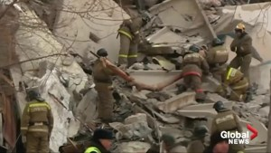 Four dead, dozens trapped after Russian gas blast