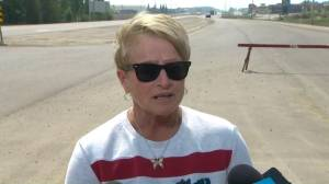 'Everything is uncertain here': High Level mayor amid wildfire
