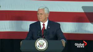Pence stands by Trump statement that NFL players should stand for national anthem