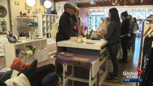Edmonton stores experience pre-Christmas spike