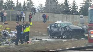 Fatal multi-vehicle collision on Glenmore Trail and Crowchild Trail