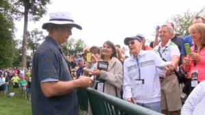 Bill Murray hits the links at the Classic's Pro-Am