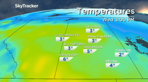 Saskatoon weather outlook: warmest day of November on Wednesday