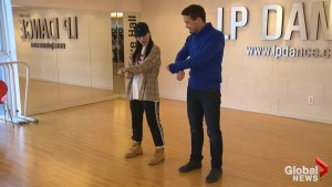 Global reporter gets some lessons in K-Pop dance moves