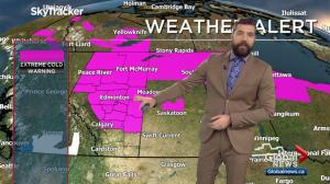 Edmonton Weather Forecast: Jan. 10