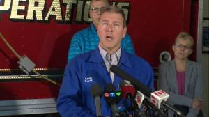 Irving Oil says close to 3,000 people could've been working