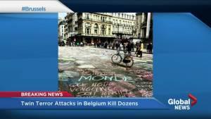 BC children in Brussels on school trip